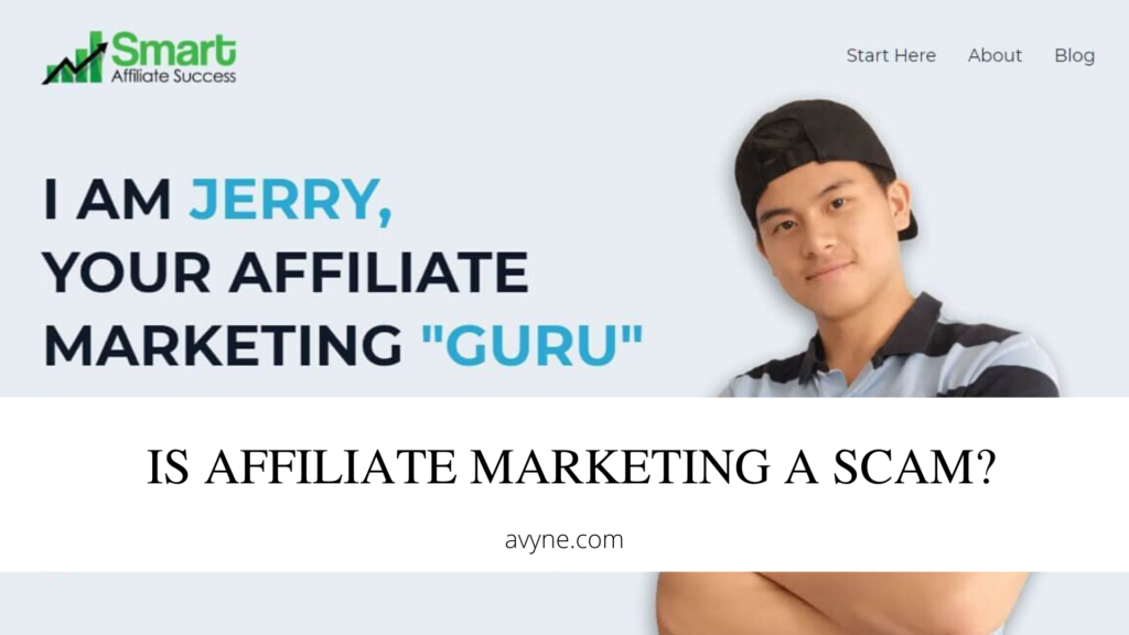 Is Affiliate Marketing a scam?