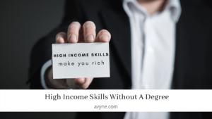 高收入技能| 9個必學的高收入技能(零成本投資)