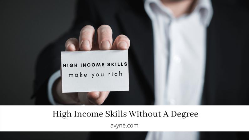 高收入技能 | 9個必學的高收入技能(零成本投資)