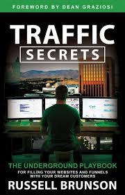Clickfunnels Russel Brunson Traffic secret book